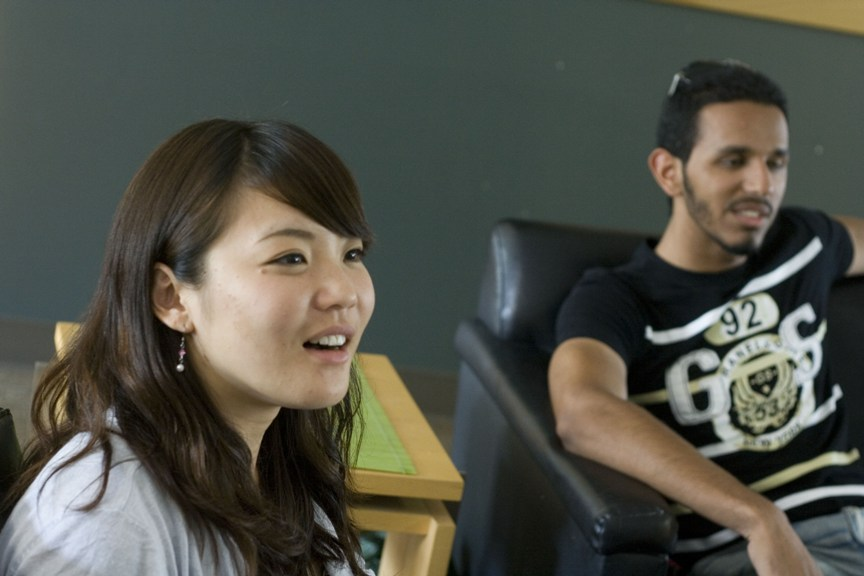 Soccer fans unite at International Student Office