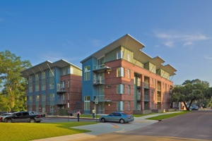 Tech student housing earns award for design and construction excellence
