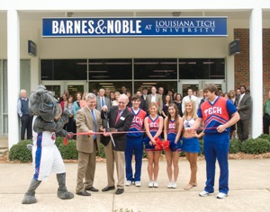 Louisiana Tech celebrates grand opening of Barnes & Noble, McAlister's