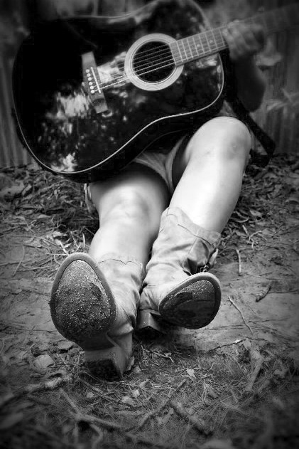 """""""Boots and Guitar"""" by Ciara Futch"""