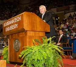 Louisiana Tech graduates prepare for future