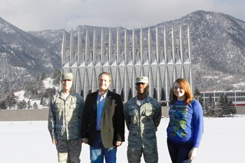 Tech students, faculty attend U.S. Air Force Academy leadership symposium