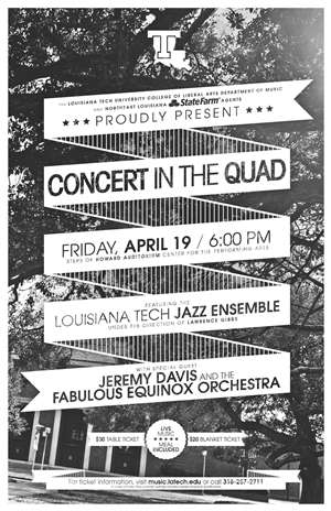Louisiana Tech prepares for 'Concert in the Quad'