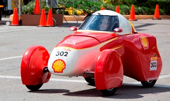 Louisiana Tech's Urban Concept Vehicle, 'Hot Rod'