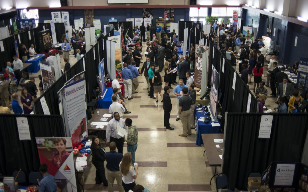 Tech hosts record numbers for Career Day