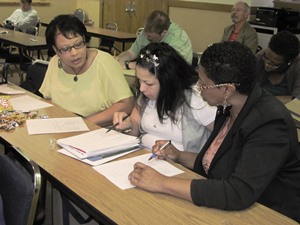 Lincoln Parish teachers participate in workshop at Louisiana Tech.
