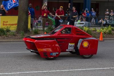 Louisiana Tech's 'Diesel Dawg' Urban Concept vehicle.