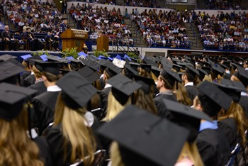 Faculty awards were presented during last Saturday's Louisiana Tech spring commencement ceremony.
