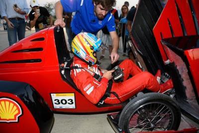 Formula One drivers take the wheel of Louisiana Tech's Eco-marathon cars