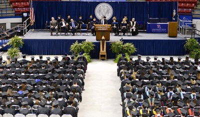 300 graduates received diplomas during Louisiana Tech's fall commencement.