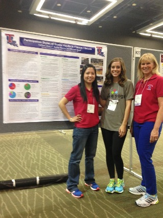 L to R - Dr. Jean Chen, Jordan Ward, C. Smiley Reeves.