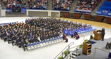 Louisiana Tech's 322 winter quarter graduates.