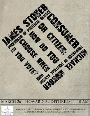 Waggonner Center Debate Poster