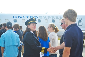Professional Aviation partners with ExpressJet Airlines to offer students career opportunities