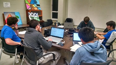 Computer science, cyber engineering and electrical engineering students from Louisiana Tech pull an all-nighter for the IEEEXtreme 24-Hour Programming competition.