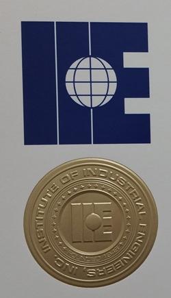 Institute of Industrial Engineers Gold Award