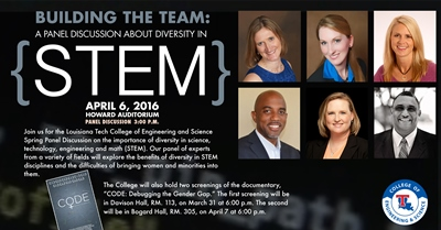 COES to host STEM diversity panel discussion