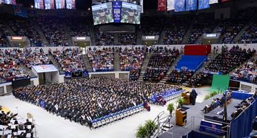 Louisiana Tech Spring Commencement.