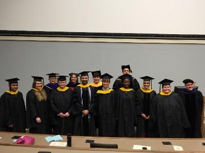 Hooding SBS Spring Graduates