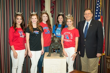 Five Louisiana Tech students to participate in 2016 Miss Louisiana pageant