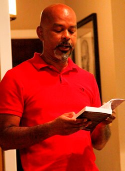 Genaro Smith reading from The Land of the Clouds.
