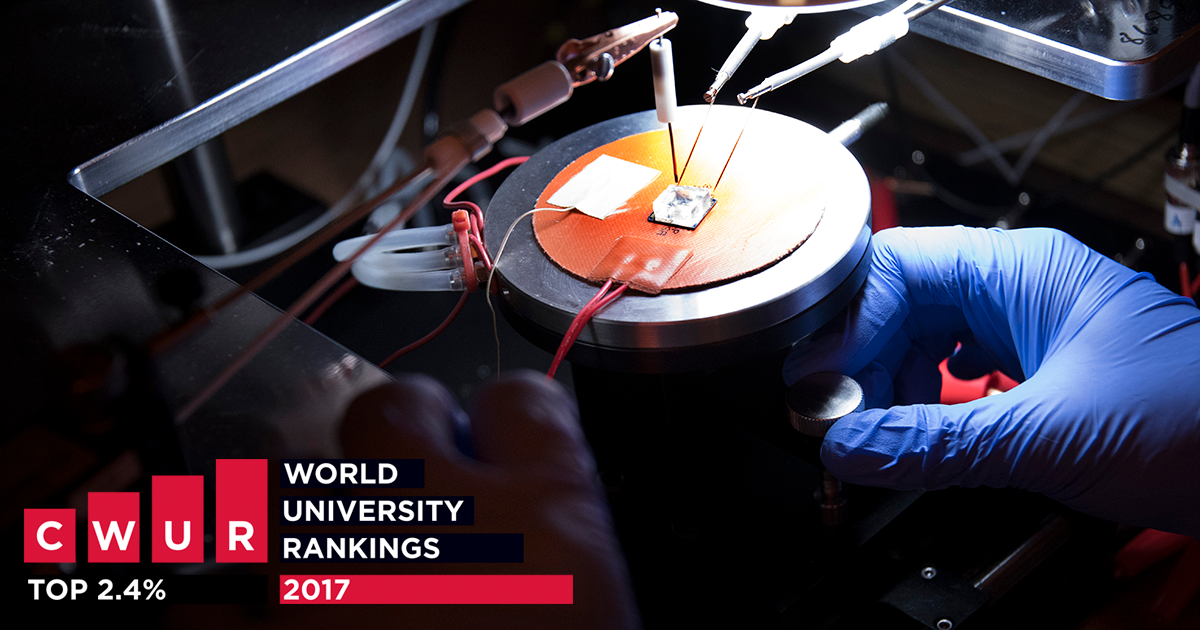 The Center for World University Rankings ranked Louisiana Tech University in the Top 2.4% worldwide.