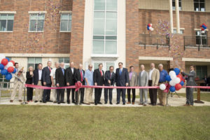 College of Business Wing Ribbon cutting