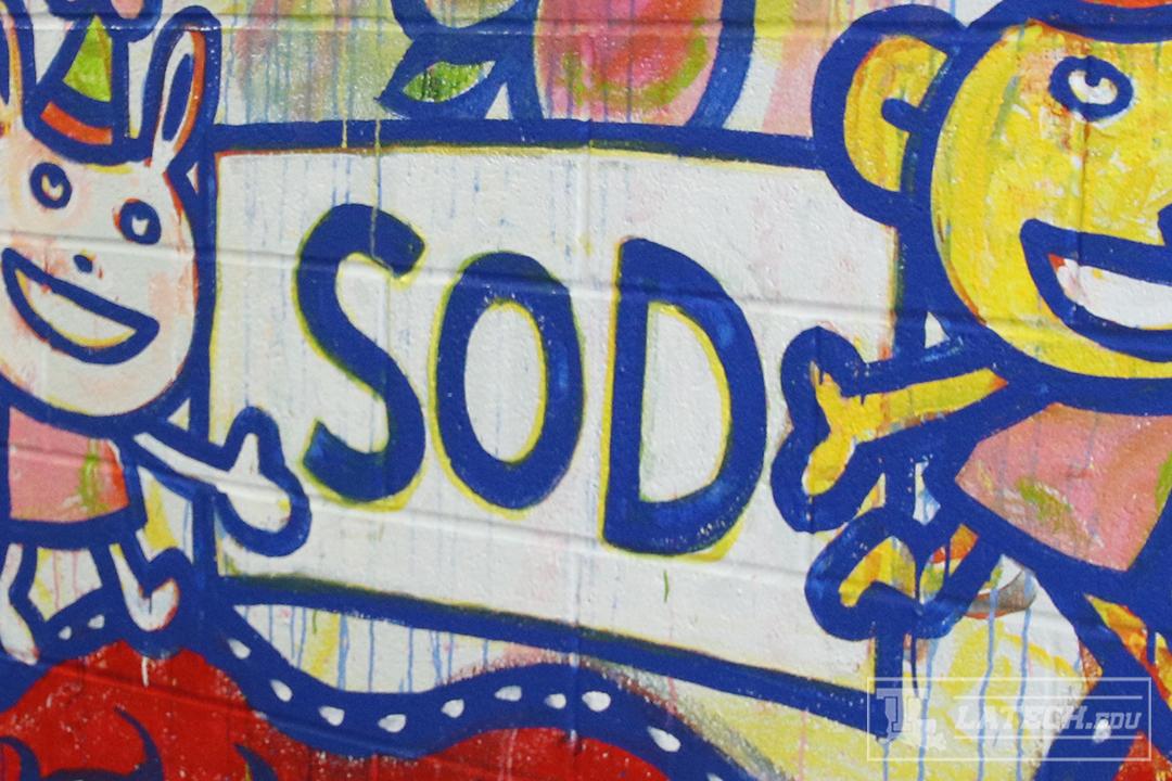 School of Design Mural