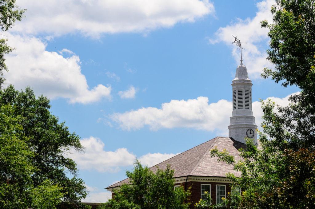 Keeny Hall Cupola and sky