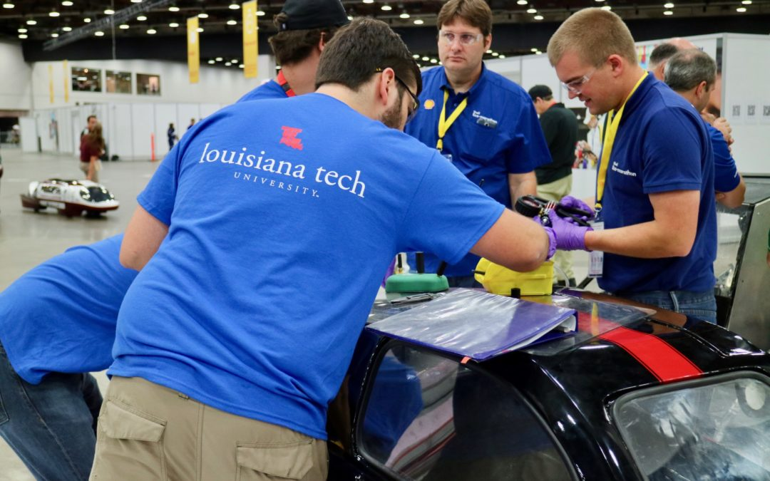 Eco-car team examines solutions for energy crisis