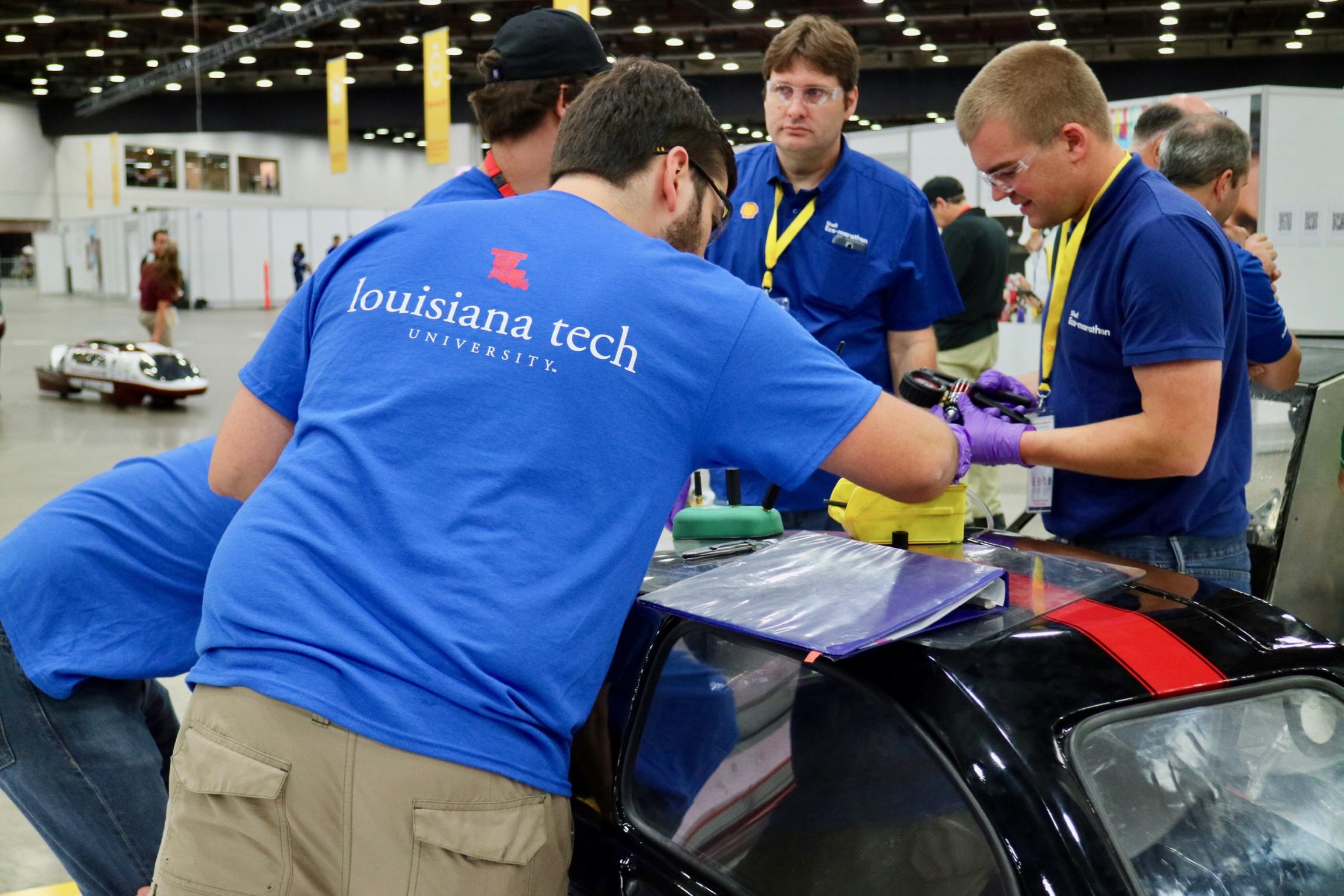 Louisiana Tech Eco Car Team