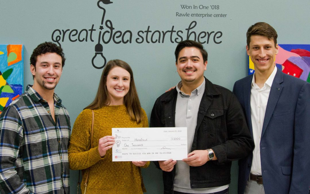 Competitors shine with bright ideas at Won in One 2018