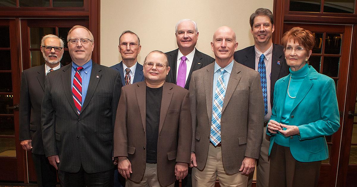 2018 COES Distinguished Alumni Group