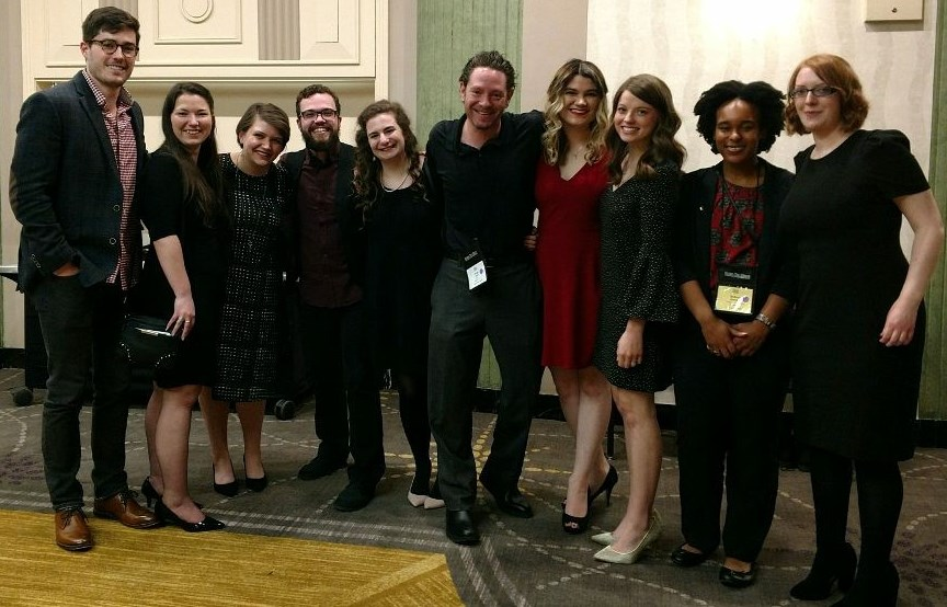 English Honor Society Members Attend Conference