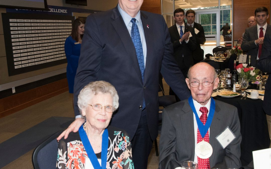 Benefactors Dinner honors supporters