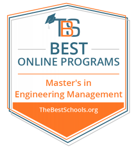 Engineering and Technology Management program named a Best Online Master's in Engineering