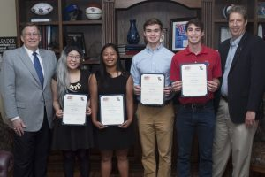 Four Engineering and Science students earn selective scholarship
