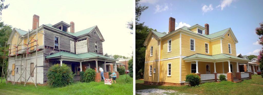 Salisbury, NC, home renovation
