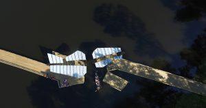 Pisces bridge from overhead