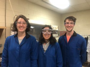 Riley Cooper, Dr. Elisabeth Fatila, and Brandon Cooper have conducted research published in a renowned chemistry journal.