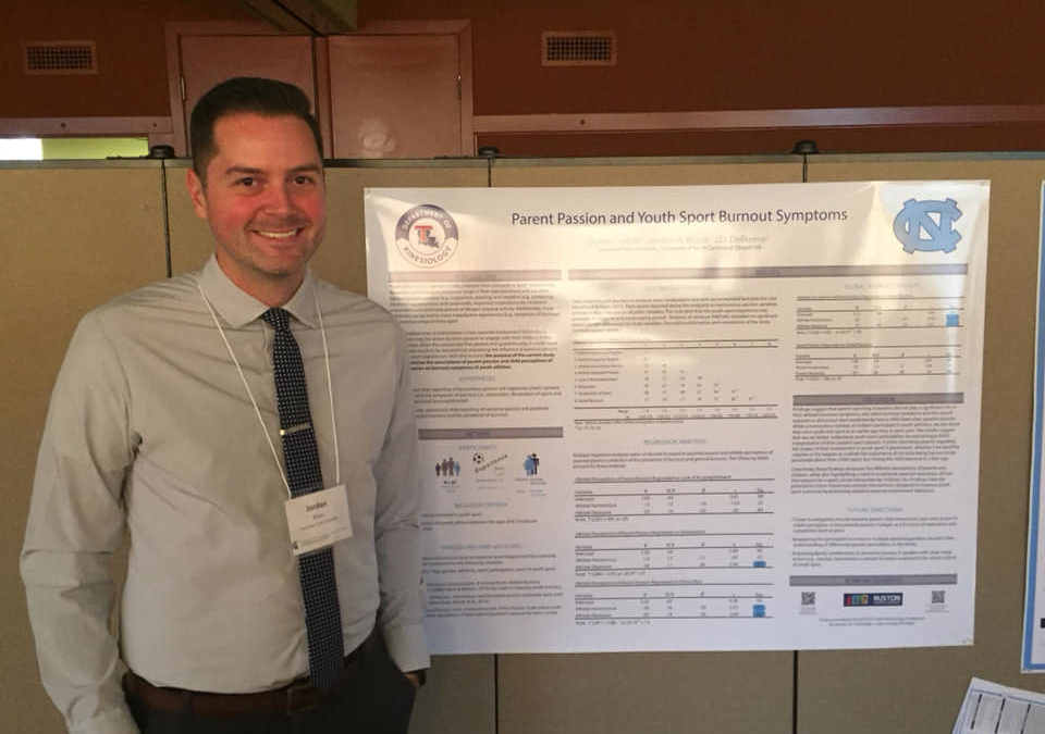 Blazo presents at Institute for the Study of Youth Sports Conference