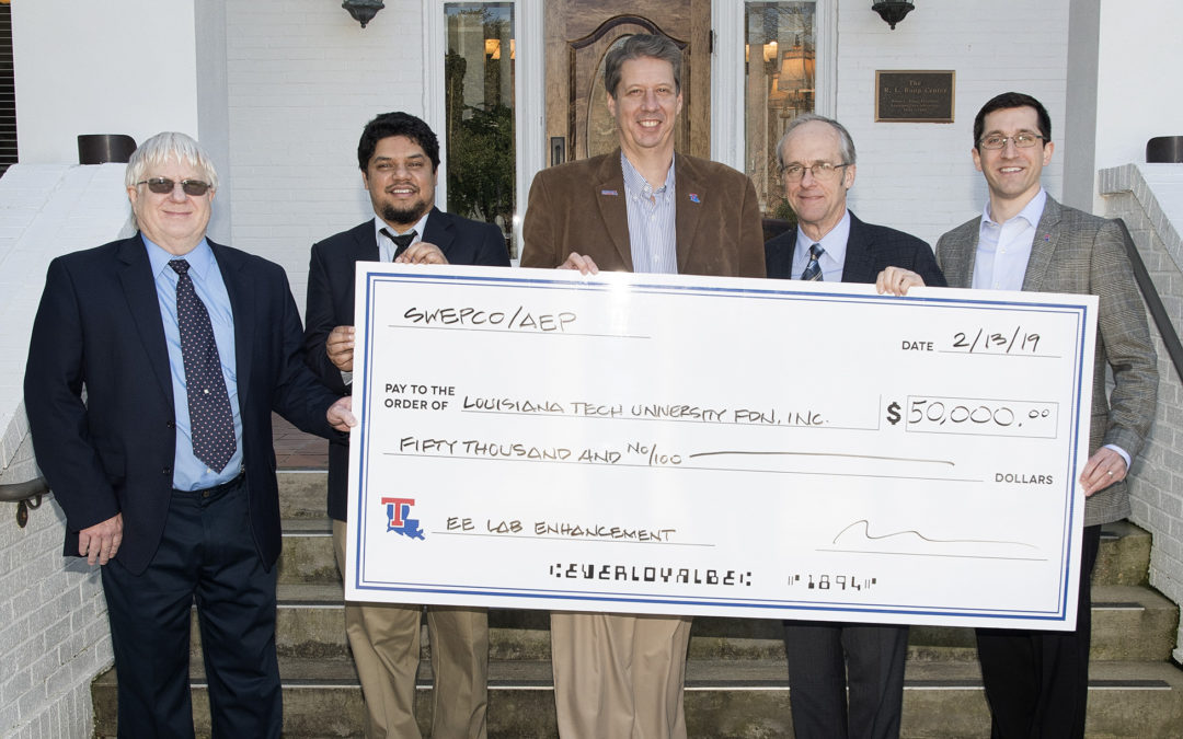 Engineering lab receives AEP Foundation Grant