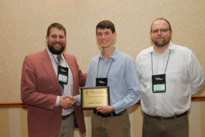 Nathan Bolner was the LaTech Undergraduate Forestry Student of the year.
