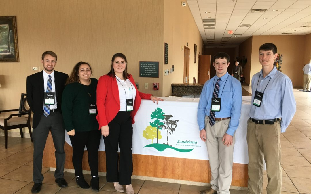 Forestry students win awards at state meet
