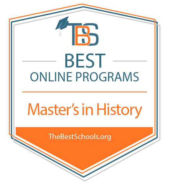 Master's in History degree earns high national, state ranking