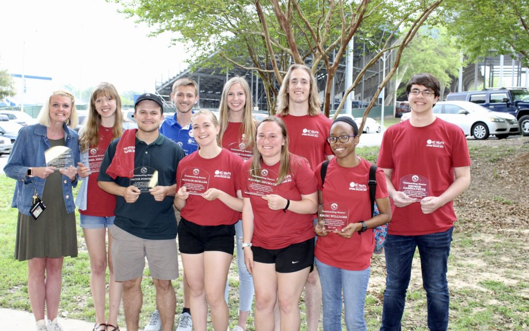 College of Engineering and Science announces 2019 Outstanding Students, Faculty