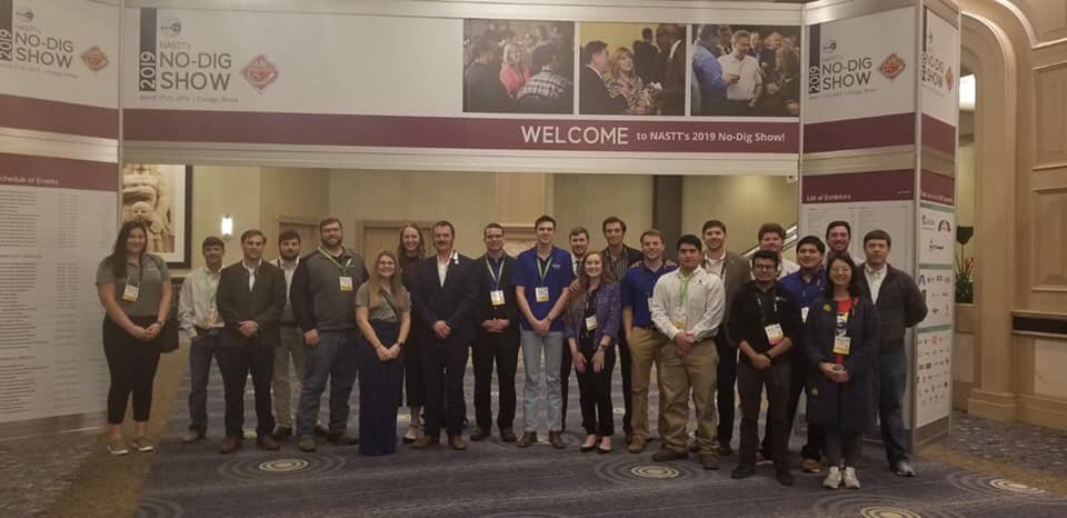 Students attend trenchless technology conference
