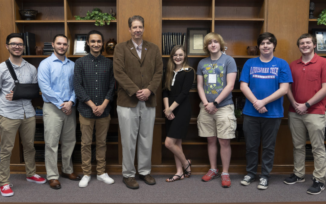 Seven Louisiana Tech students earn prestigious cybersecurity scholarships