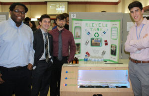 Recycle Tank's team members Courtland Adaire, David Modlin, Dalton Tackett, and James Wilson brought home the Rolex Award.