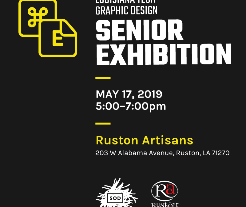 Graphic Design Senior Exhibition opens Friday